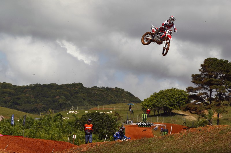 Solid opening day in Brazil as the rain holds off, for now