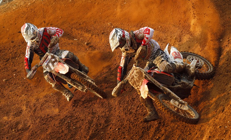 Strong Sunday for Team HRC in Thailand