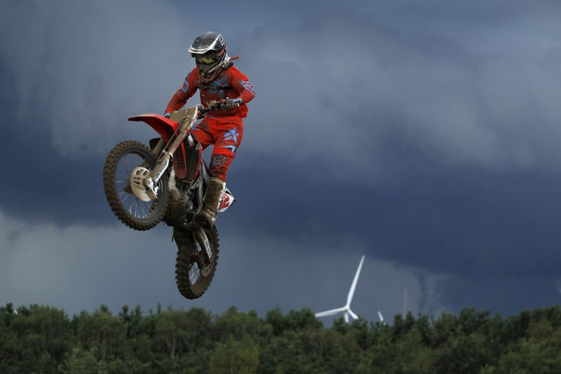 MXGP of Belgium starts strongly but ends prematurely for Team HRC