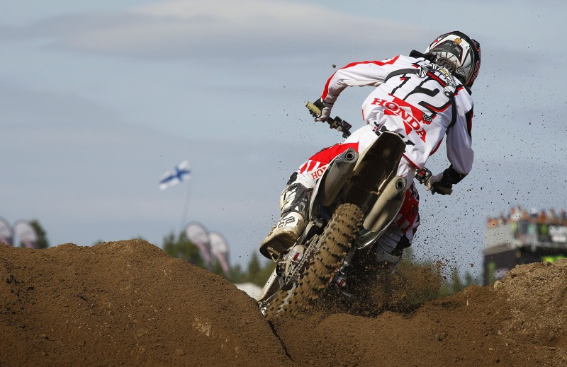 Podium finish frustratingly close for Team HRC in Finland