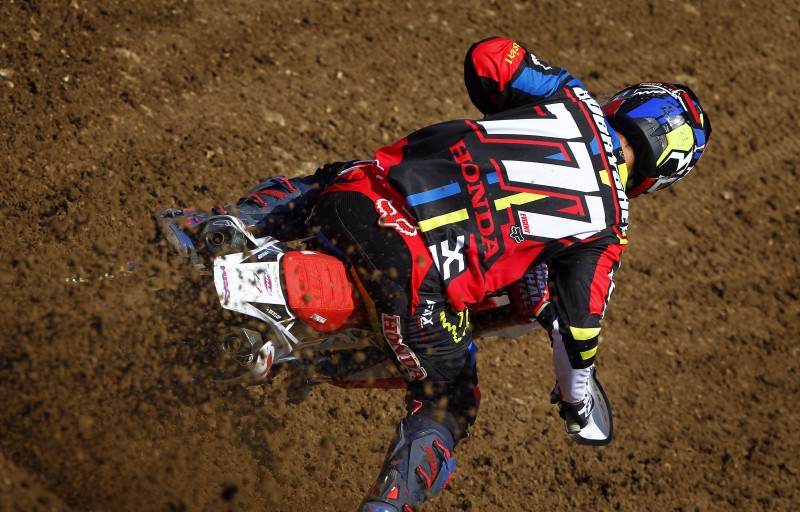 Bobryshev takes Team HRC to the temple of Italian motocross