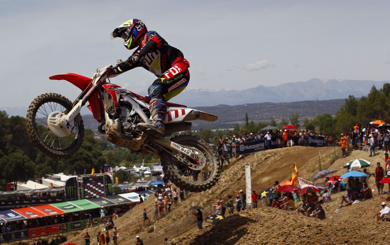 Bobryshev feeling strong after MXGP of Spain qualifying