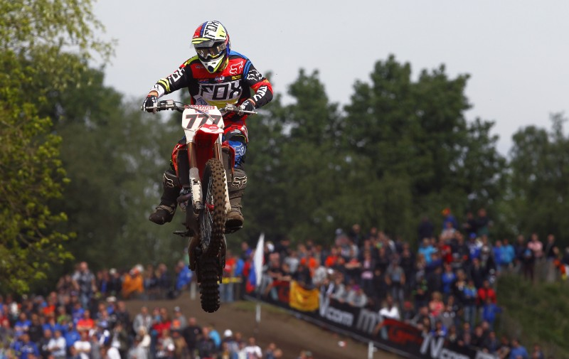 Bobryshev recovers into the top ten after a rough MXGP of The Netherlands