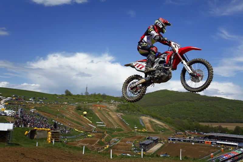 Nagl wins qualifying race for the MXGP of Bulgaria