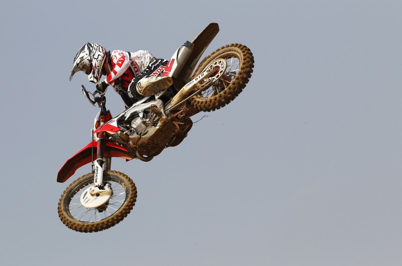 Mixed day of qualifying for Team HRC at MXGP of Thailand
