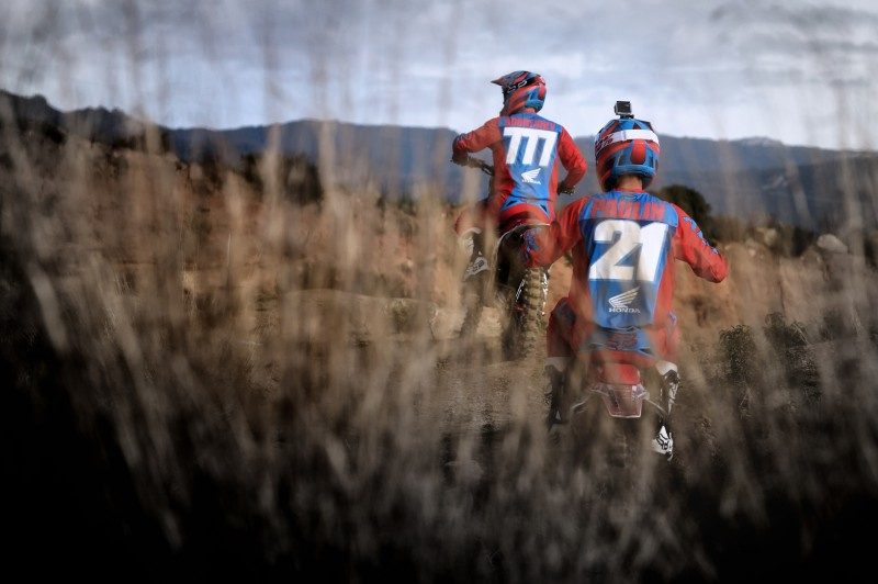 First official images of Team HRC in 2015