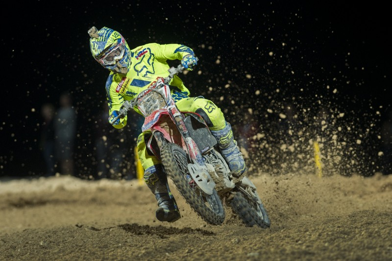First podium of 2015 for Team HRC in Qatar