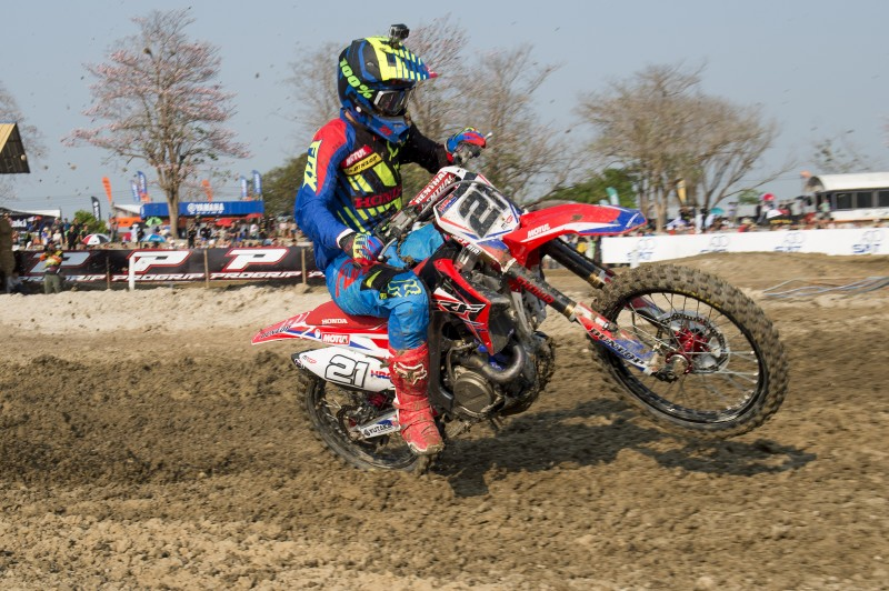 Third for Team HRC's Paulin in Thailand qualifying