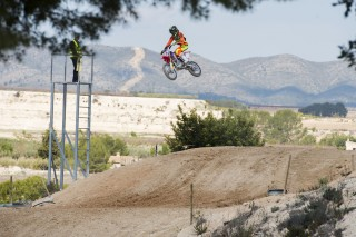 Honda's youth talent on the CRF150R