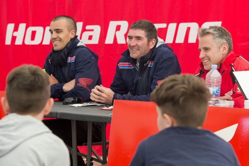Paulin and Bayle help Honda youth in the 150 Championship