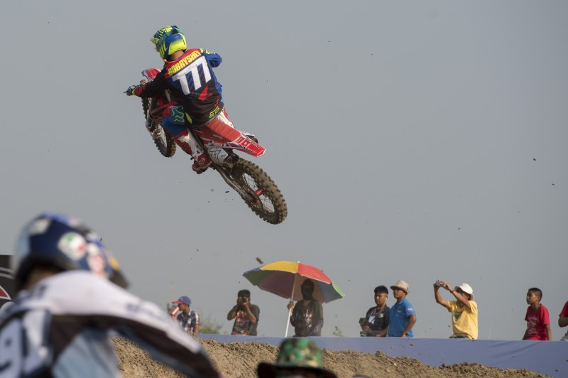Team HRC searching for a podium in South America