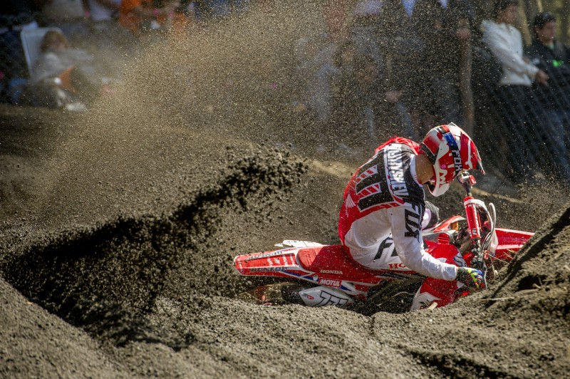 Mixed start for Team HRC in Argentina