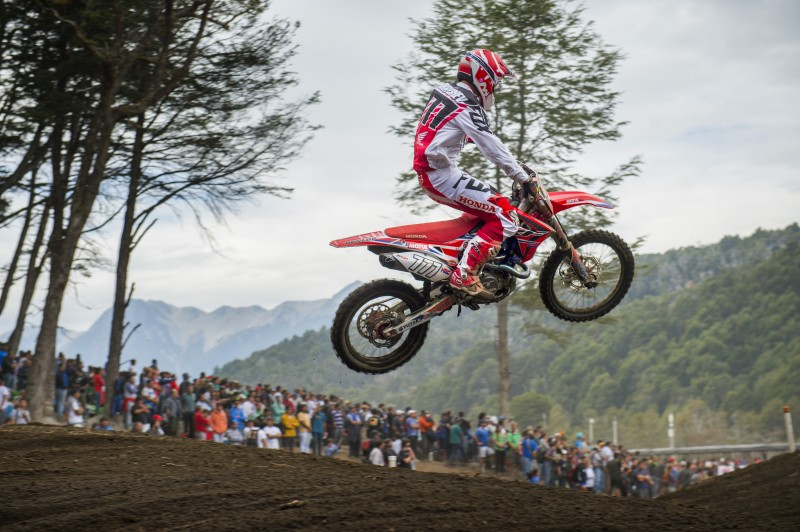 Fifth and eighth overall at the MXGP of Argentina for Team HRC