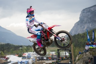Paulin finished third in Italy qualifying