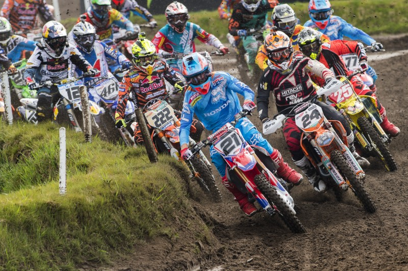 Paulin sets the pace with qualifying victory at the MXGP of Europe