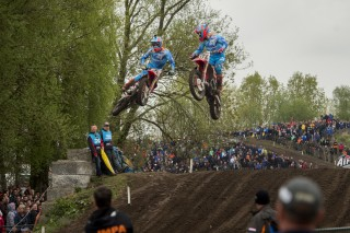 Evgeny Bobryshev and Gautier Paulin in The Netherlands