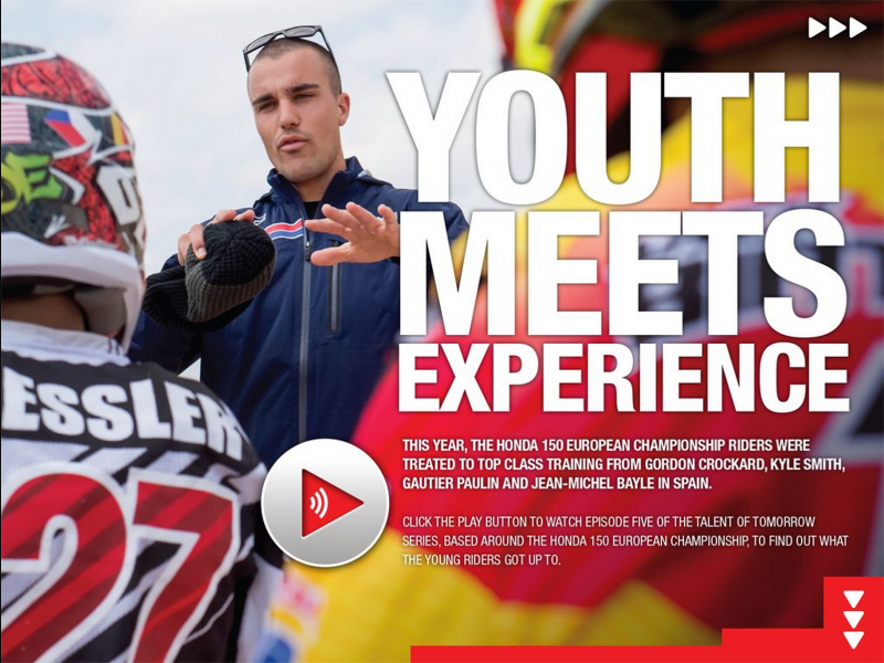 HondaProRacing Line issue 11 revisits Paulin and Bayle at the 150 training camp, and more