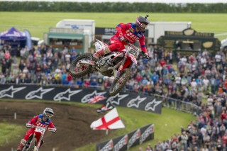 Evgeny Bobryshev and Gautier Paulin in the UK