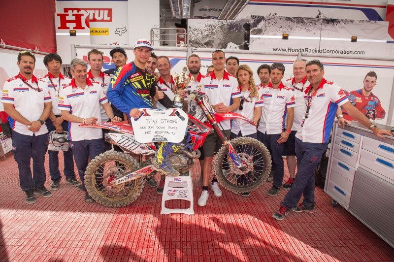 Bobryshev takes his first podium for Team HRC in France