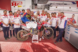 Team HRC in France