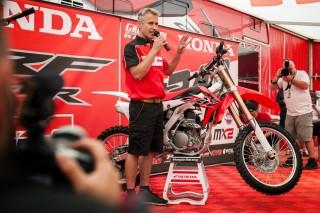 Davy Dousselaere, Honda Motor Europe Off-Road Manager