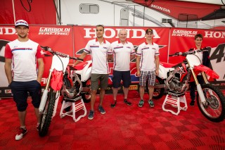 The unveil of the 2016 CRF450R and CRF250R