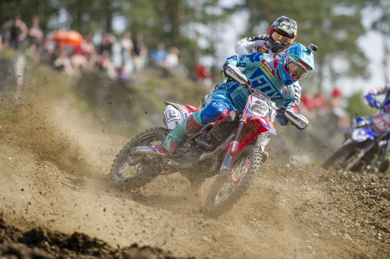 Team HRC kick-off MXGP of Sweden with third and fourth in qualifying