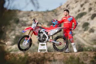 Evgeny Bobryshev will ride the CRF450RW in 2016