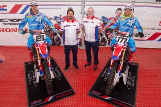 The Team HRC line-up remains unchanged for 2016