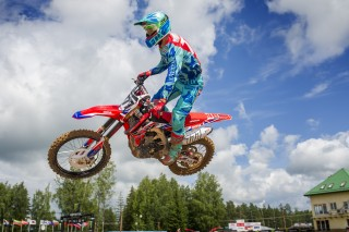 Evgeny Bobryshev in Latvia