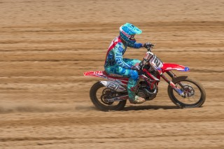 Gautier Paulin wins qualifying race in Latvia