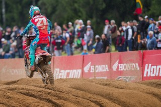 Gautier Paulin takes second in Latvia