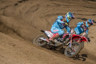 Evgeny Bobryshev and Gautier Paulin in Belgium