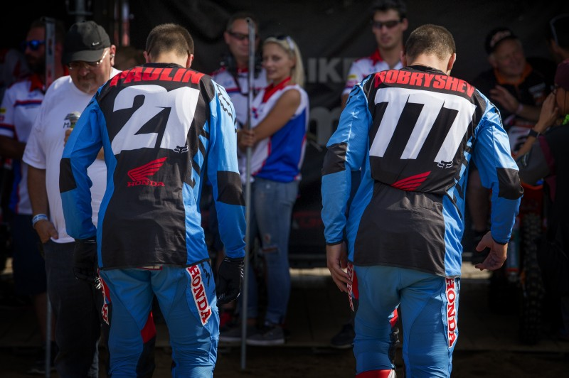 Sixth and seventh in the sand for Team HRC duo