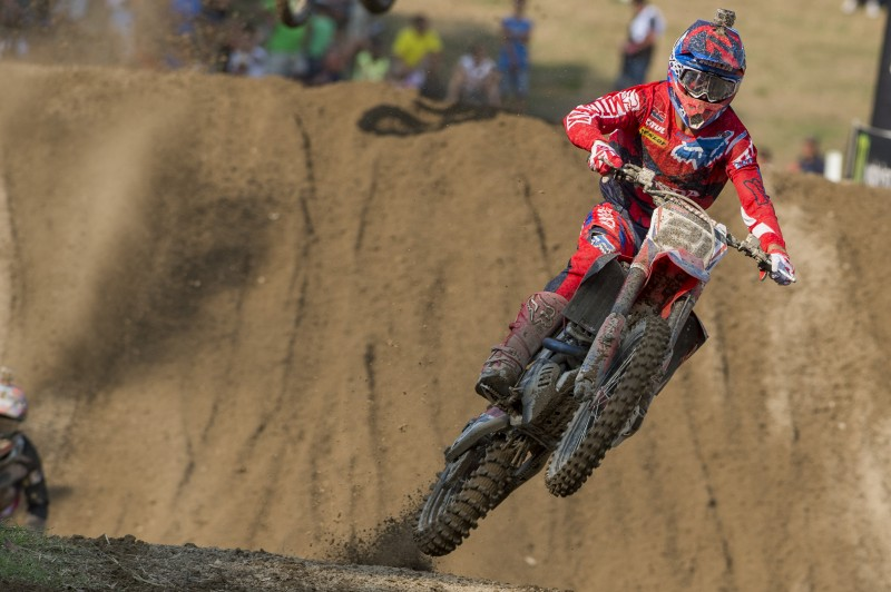 Paulin takes second on the CRF450RW in Italian qualifying