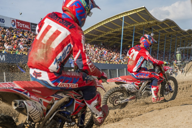 Third and sixth for Team HRC in qualifying at Assen