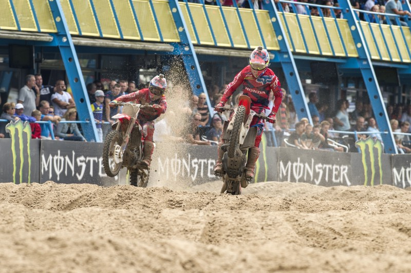 Fourth and fifth for Team HRC in Assen as Paulin and Bobryshev both take their turns leading the field