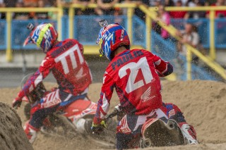 Evgeny Bobryshev and Gautier Paulin in Assen