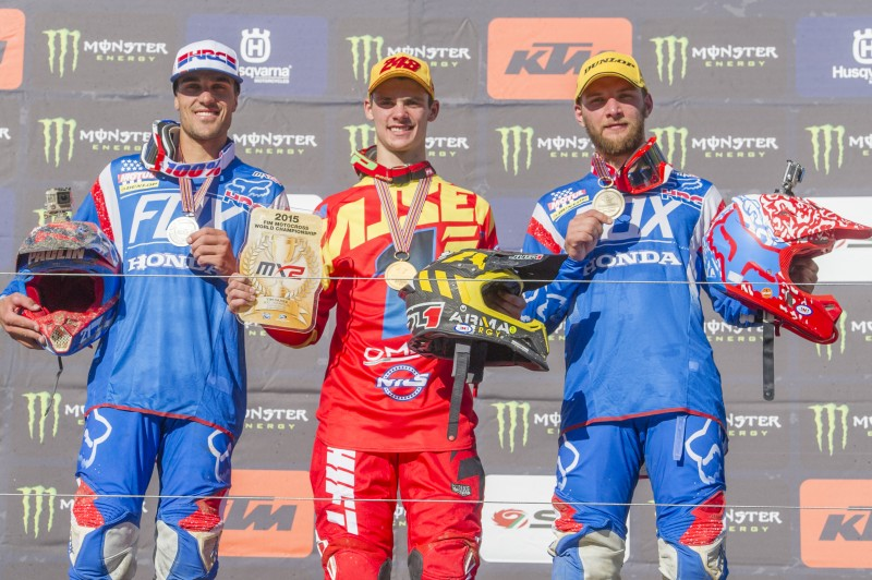 Team HRC finish 2015 MXGP season second and third in the world