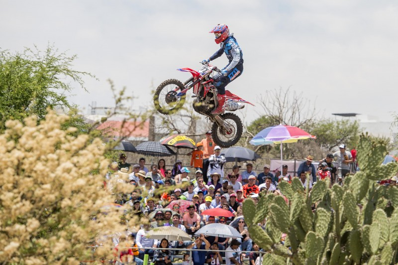 Bobryshev climbs to fourth in the world with solid MXGP of Leon