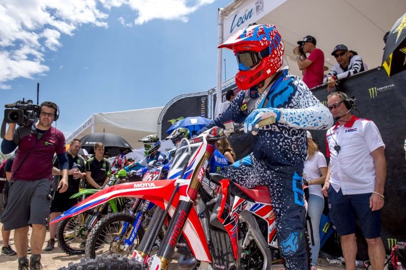 Team HRC back in Europe for the MXGP of Latvia
