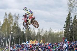 Evgeny Bobryshev on the CRF450RW