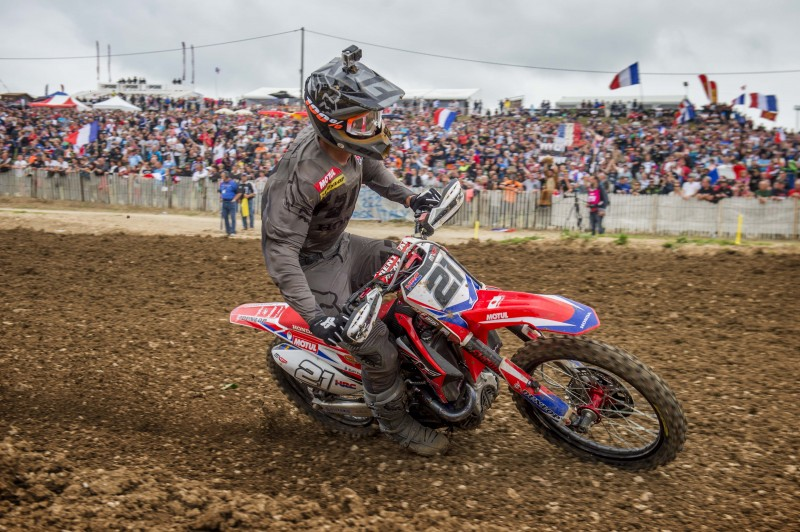 Paulin ruled out of MXGP of France