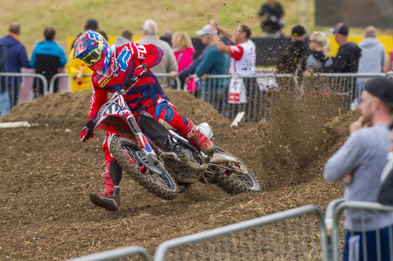 Top three for Team HRC in Great Britain qualifying