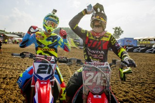 Gautier Paulin and Tim Gajser in Mantova