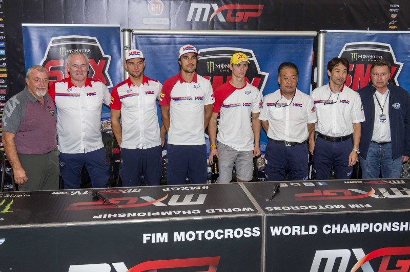 Honda announce SMX team after qualifying for the MXGP of Belgium