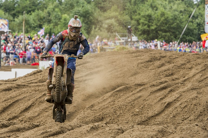 Team HRC return to action as Switzerland returns to the GP scene