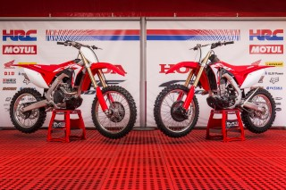 The 2017 Honda CRF450R and CRF450RX