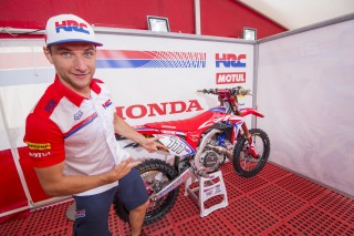 The all-new 2017 Honda CRF450RW