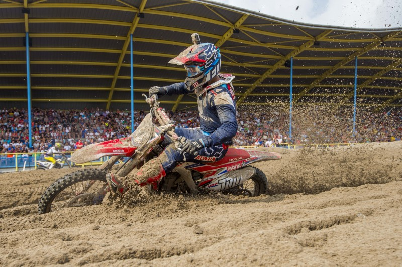 Team HRC left wanting after MXGP in Assen